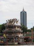 Kontrast v Čínské čtvrti