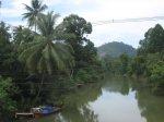 Krajina kolem silnice z Ranongu