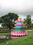 Další dekorace na svátek Loi Krathong